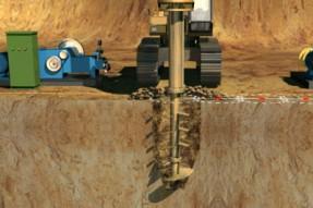 水泥土隔离墙新工艺