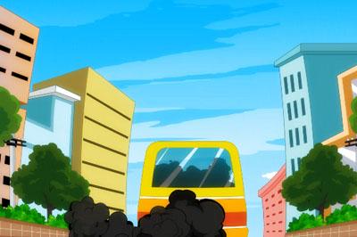 公益宣传动画,灰色彩虹