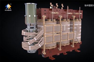 徐州变压器模型展示 三维设备拆分动画